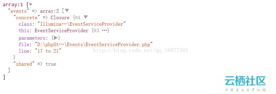 Laravel 服务容器解析-
